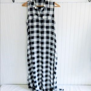 🌸SALE🌸 Who What Wear Gingham Shirt Dress